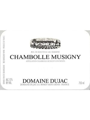 Wine DOMAINE DUJAC CHAMBOLLE-MUSIGNY 2016