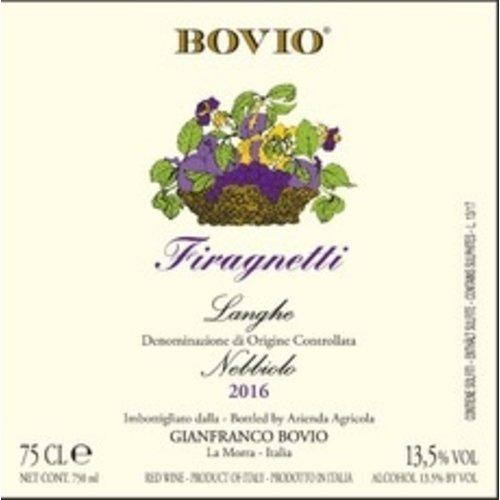 Wine BOVIO LANGHE NEBBIOLO FIRAGNETTI 2016