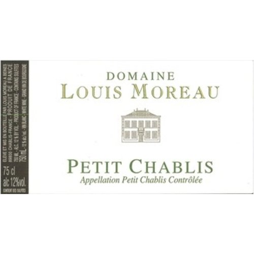 Wine DOMAINE LOUIS MOREAU PETIT CHABLIS 2017