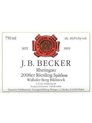 Wine J. B. BECKER WALLUFER BERG BILDSTOCK RIESLING SPATLESE 2004