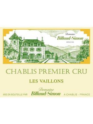 Wine BILLAUD SIMON CHABLIS PREMIER CRU 'LES VAILLONS' 2016