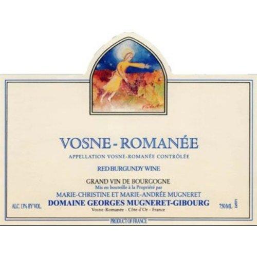 Wine GEORGES MUGNERET-GIBOURG VOSNE-ROMANEE 2016