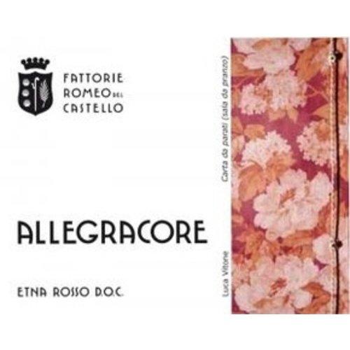 Wine ROMEO DEL CASTELLO 'ALLEGRACORE' ETNA ROSSO 2016
