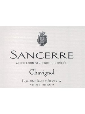 Wine DOMAINE BAILLY-REVERDY SANCERRE CHAVIGNOL 2017