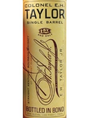 Spirits COLONEL E.H. TAYLOR SINGLE BARREL BOURBON 100 PROOF