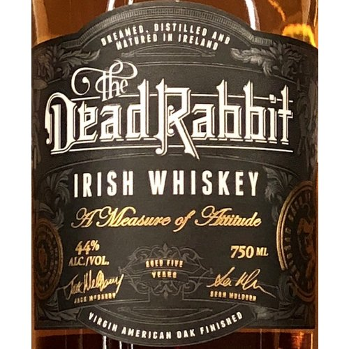 Spirits DEAD RABBIT IRISH WHISKEY