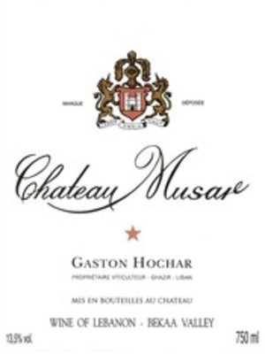 Wine CHATEAU MUSAR ROUGE 2005