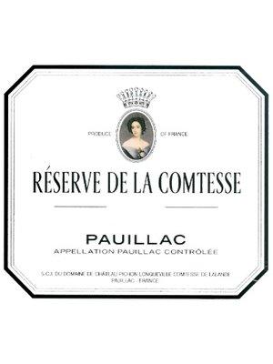 Wine RESERVE DE LA COMTESSE (CH. PICHON LALANDE) 2009