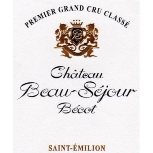 Wine CH BEAU-SEJOUR BECOT 2010
