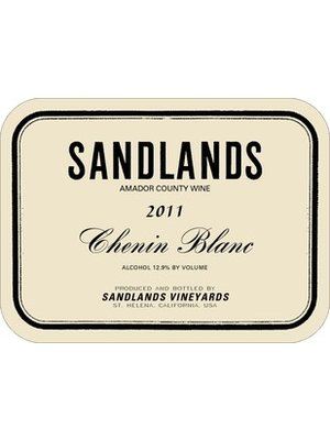 Wine SANDLANDS VINEYARDS CHENIN BLANC 'AMADOR COUNTY'  2016