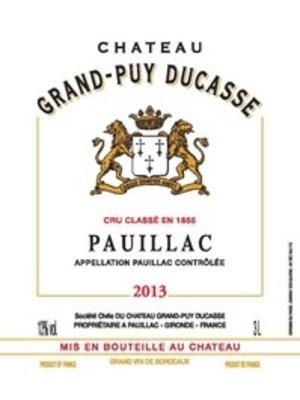 Wine GRAND PUY DUCASSE 2013