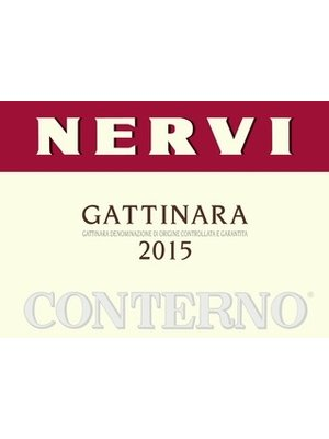 Wine NERVI-CONTERNO GATTINARA 2015