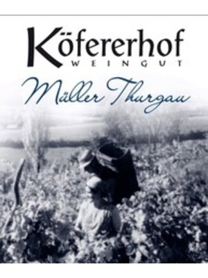 Wine KOFERERHOF MULLER THURGAU 'VALLE ISARCO' ALTO ADIGE  2016