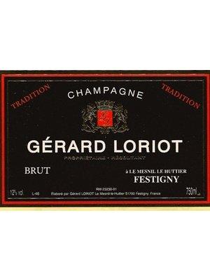 Sparkling GERARD LORIOT BRUT TRADITION BLANC DE NOIRS CHAMPAGNE NV