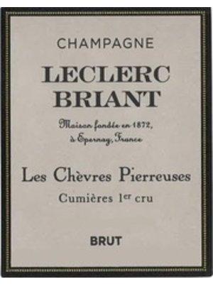 Sparkling LECLERC BRIANT BRUT CUMIERES 1ER CRU 'LES CHEVRES PIERREUSES' CHAMPAGNE NV
