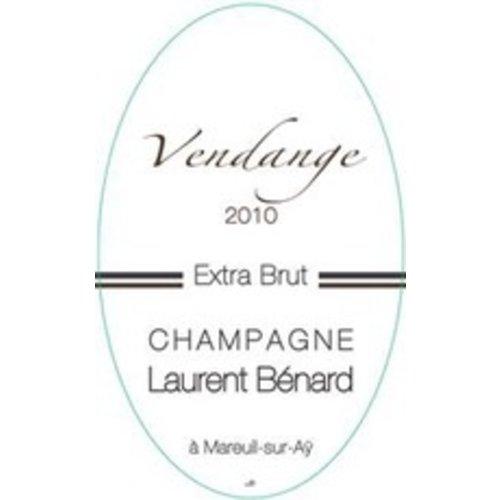 Sparkling LAURENT BENARD EXTRA BRUT 1ER CRU CHAMPAGNE VENDANGE 2010