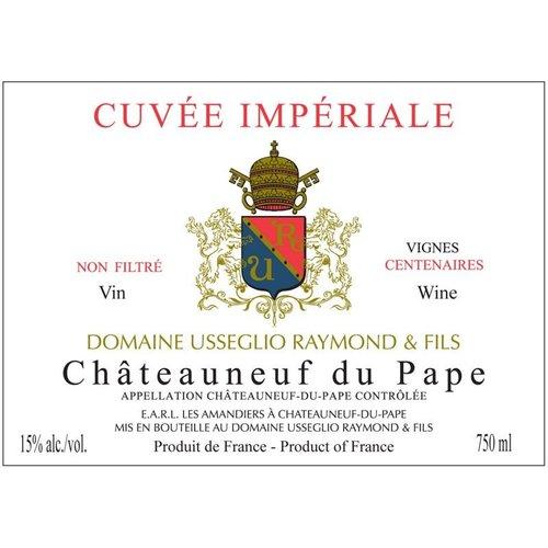 Wine DOMAINE USSEGLIO CUVEE IMPERIALE CHATEAUNEUF DU PAPE 2012