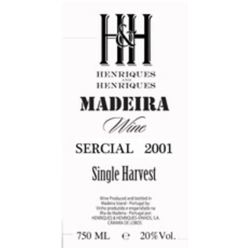 Wine H&H SERCIAL MADEIRA 2001