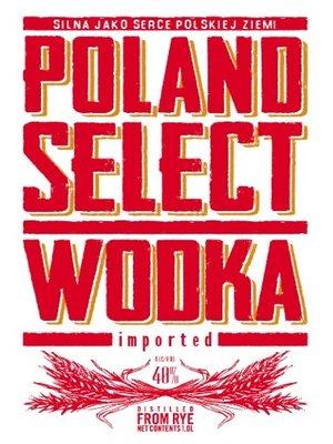 Spirits POLAND'S SELECT VODKA 1L