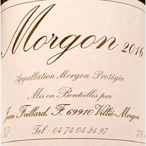 Wine DOMAINE FOILLARD MORGON 2018