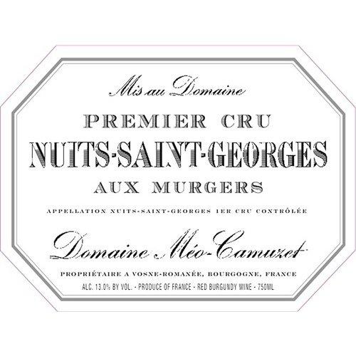Wine MEO CAMUZET NUITS SAINT GEORGES 'AUX MURGERS' 1ER CRU 2016