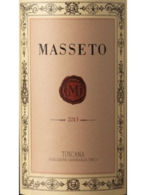 Wine MASSETO TOSCANA IGT 2015