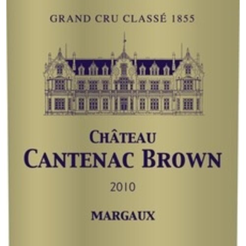 Wine CHATEAU CANTENAC BROWN 2010