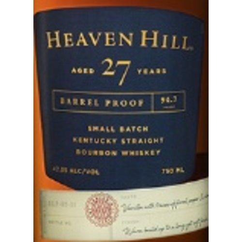 Spirits HEAVEN HILL SMALL BATCH BOURBON 'BARREL PROOF' 27 YEARS