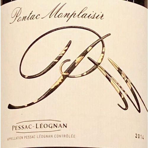 Wine PONTAC MONPLAISIR CUVEE PM PESSAC-LEOGNAN 2014