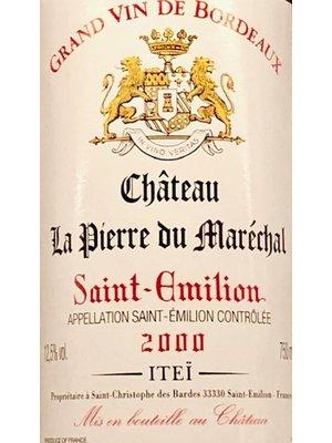 Wine CHATEAU LA PIERRE DU MARECHAL SAINT-EMILION 2000