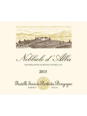 Wine SERIO E BATISTA BORGOGNO NEBBIOLO D'ALBA 2015