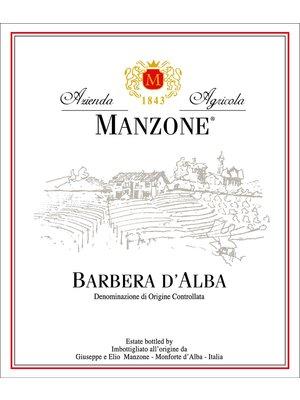 Wine MANZONE FRATELLI BARBERA D'ALBA 2016