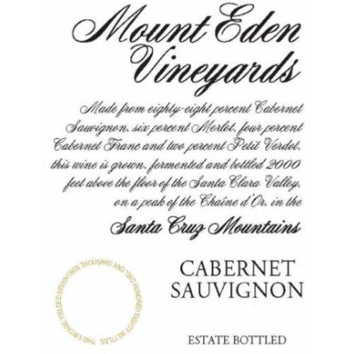 Wine MOUNT EDEN SANTA CRUZ MOUNTAIN CABERNET SAUVIGNON 2014