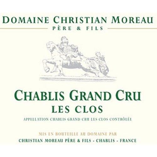 "Wine DOMAINE CHRISTIAN MOREAU CHABLIS ""LES CLOS"" CHABLIS GRAND CRU 2016"