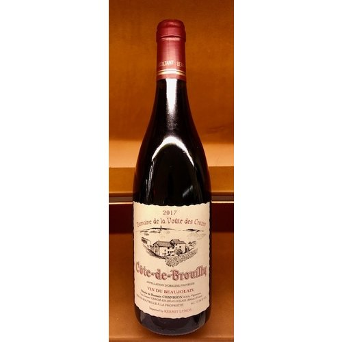 Wine CHANRION COTE-DE-BROUILLY VIN DU BEAUJOLAIS 2017
