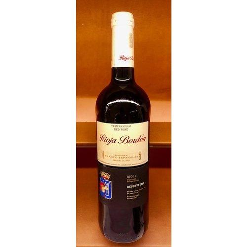Wine FRANCO-ESPANOLAS BORDON RIOJA RESERVA 2011