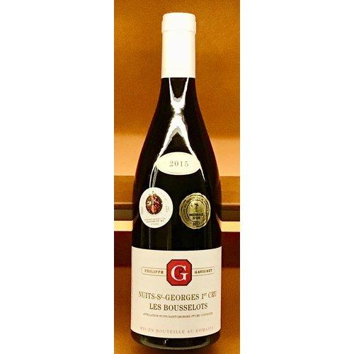 "Wine DOMAINE PHILIPPE GAVIGNET ""LES BOUSSELOTS"" 1er CRU NUITS-ST. GEORGES 2015"