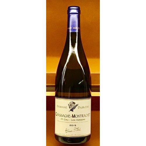 """Wine DOMAINE DUBLERE CHASSAGNE MONTRACHET """"LES VERGERS"""" 1er CRU 2015"""