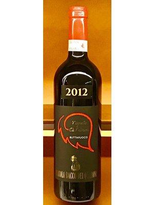 """Wine PICCOLO BACCO DEL QUARONI ROSSO BUTTAFUOCO """"CA PADRONI"""" 2012"""