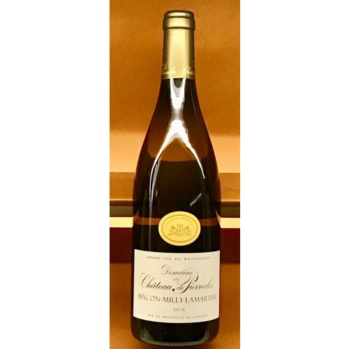 Wine DOMAINE DE CHATEAU DE PIERRECLOS  MACON-MILLY-LAMARTINE BLANC 2016