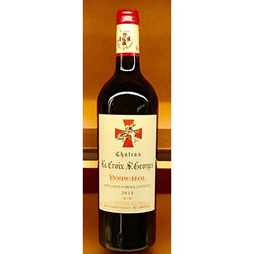 Wine CHATEAU LA CROIX SAINT GEORGE POMEROL 2014
