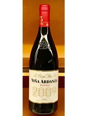 Wine LA RIOJA ALTA VINA ARDANZA RESERVA 2009