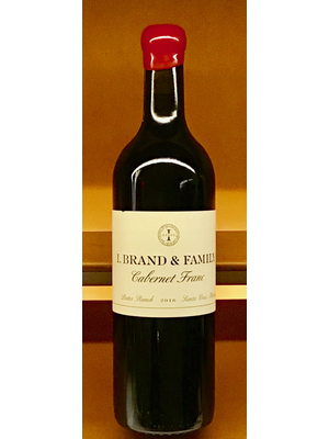 Wine I BRAND FAMILY BATES RANCH CABERNET FRANC 2017