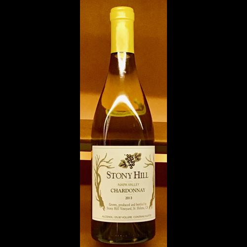 Wine STONY HILL CHARDONNAY 2013