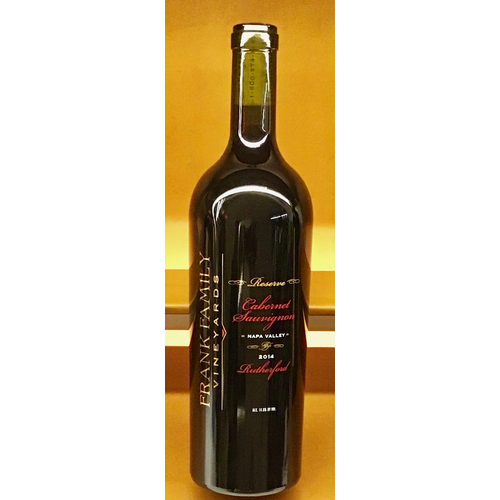 Wine FRANK FAMILY VINEYARD CABERNET SAUVIGNON RUTHERFORD RESERVE 2017
