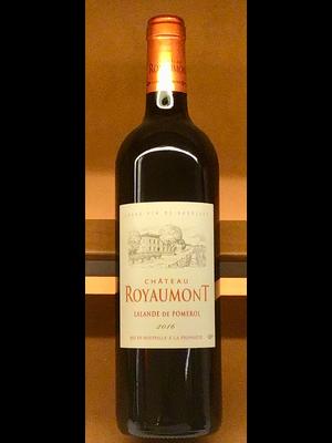 Wine CHATEAU ROYAUMONT LALANDE DE POMEROL 2016