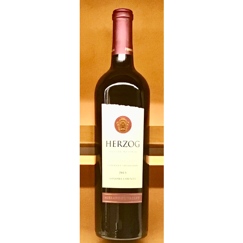 Specialty HERZOG CABERNET SAUVIGNON ALEXANDER VALLEY SPECIAL RESERVE  2015