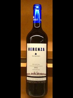 Wine ELVI HERENZA RIOJA 2017