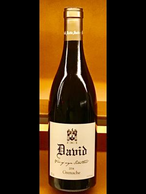 Wine DAVID & NADIA SADIE GRENACHE 'DAVID' 2014
