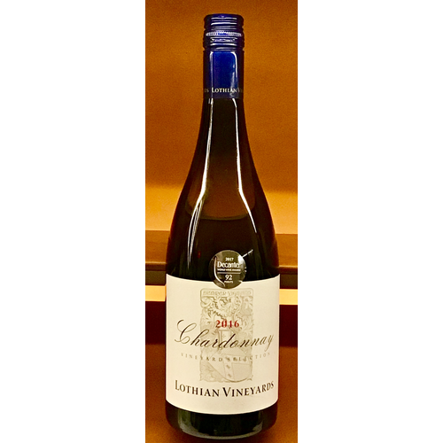 Wine LOTHIAN VINEYARDS CHARDONNAY 2016
